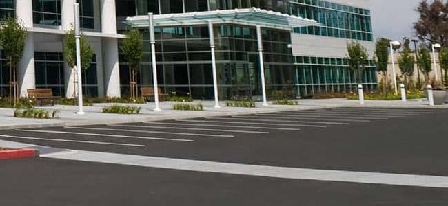 Madison Asphalt Fresh Parking Lot