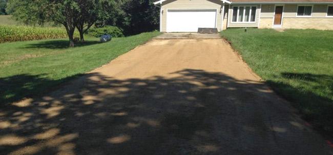 Madison Gravel Driveway