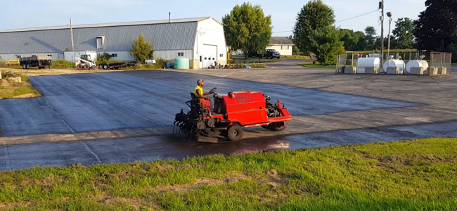 Madison Asphalt Sealer Truck