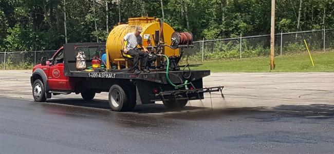 Madison Asphalt Sealer Truck